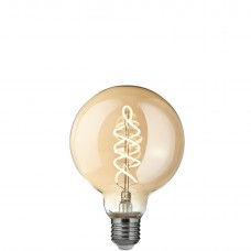 LED лампа Эдисона g95 6W 2700K SPIRAL