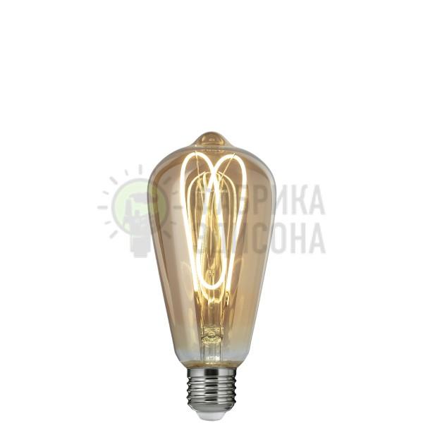 LED лампа Эдисона ST64 4W 2700K SPIRAL