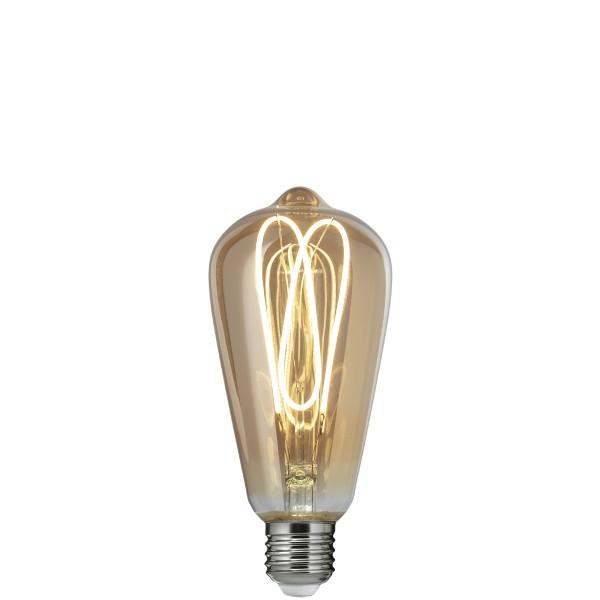 LED лампа Едісона ST64 4W 2700K SPIRAL