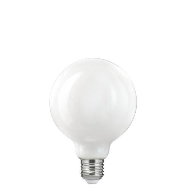 Белая матовая LED лампочка G90