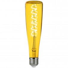 LED лампа Amber Yellow 4W 2700K