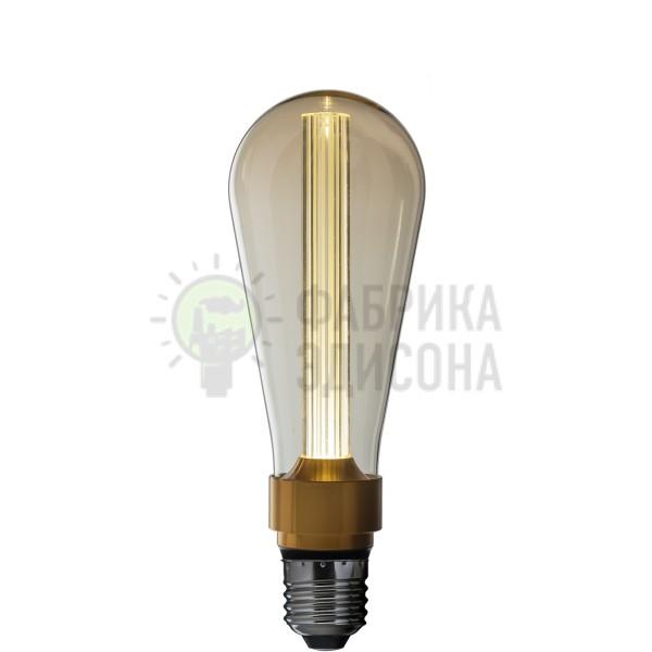 Лампочка Эдисона New LED Amber