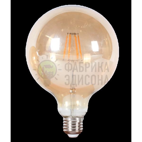 LED лампа Эдисона G125 6W 2700 К