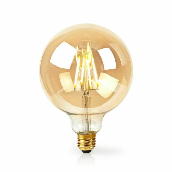 LED лампа Едісона G95 4W 2700 жовте скло