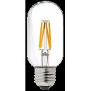LED лампа Эдисона T45 4W 4000K прозрачное стекло