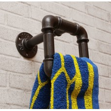 Вешалка для полотенец из труб