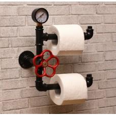 Двойной держатель туалетной бумаги