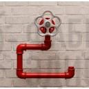 Держатель туалетной бумаги из труб Simple Red