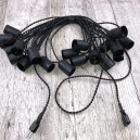 Гирлянда Retro Black 10м