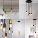 Потолочный светильник с керамическими патронами