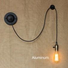 Настенное бра в стиле лофт Aluminum