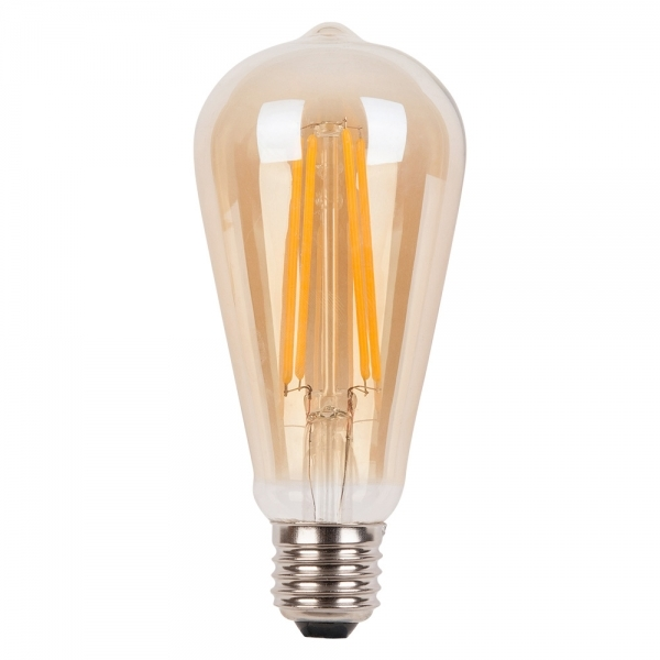 LED лампа Эдисона ST64 6 w 2700