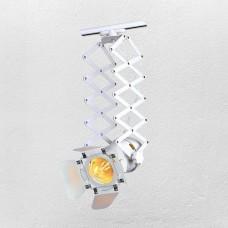 Прожектор на шинопроводе белого цвета