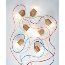 Светильник из дерева Light Bean + лампочка