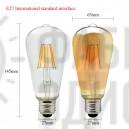 LED лампа Эдисона ST64 2700 диммируемая 3 три года гарантия