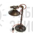 Лампа в стиле лофт