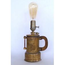 Лампа из латуни Орбита