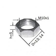 Гайка стальная (толщина 5мм)