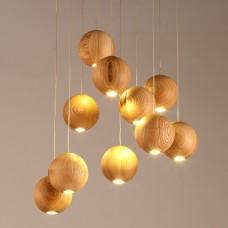 Светильник Lofter Wooden Sphere