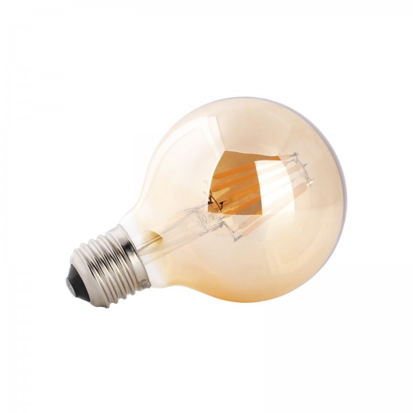 LED лампа Эдисона G80 4W 2700