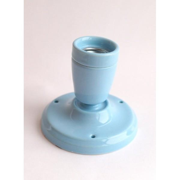 Керамічний точковий світильник (спот), колір блакитний