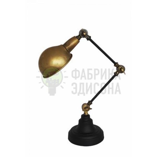 НАСТІЛЬНА ЛАМПА BRASS STEAMPUNK TABLE LAMP