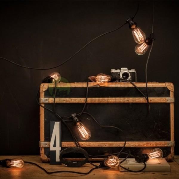 Гирлянда из лампочек Эдисона