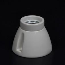 Керамический патрон бра белого цвета Е27