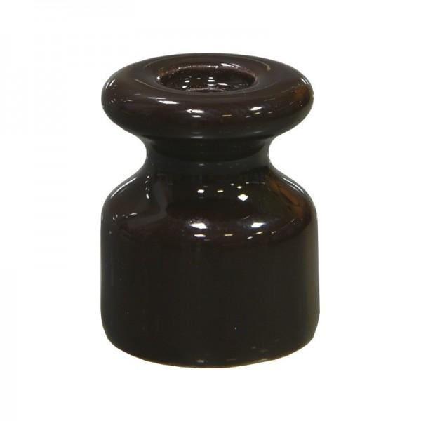 Изолятор керамический коричневый