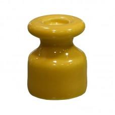 Изолятор керамический желтый