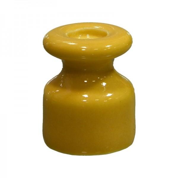 Ізолятор керамічний жовтий