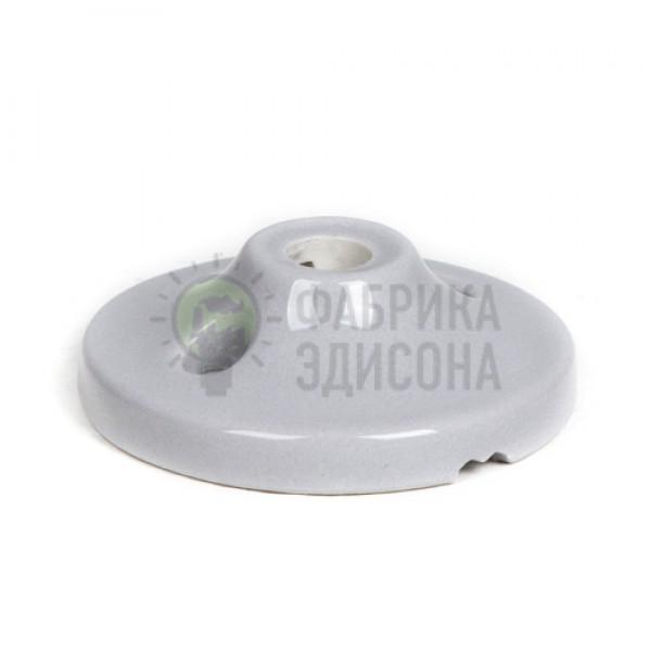 Керамический мини потолочный крепеж Серый