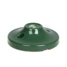 Керамический мини потолочный крепеж зеленый