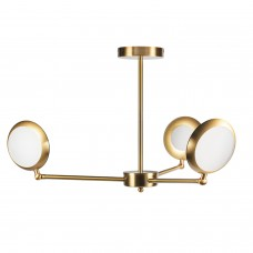 Люстра LED Headlight 3 Gold