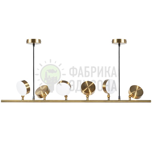 Люстра LED Headlight 6 Gold
