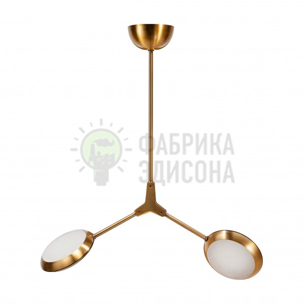 Люстра LED Headlight 2 Gold