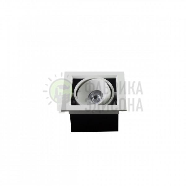 Точечный LED светильник BX07-1-LED 7W WT 3000K
