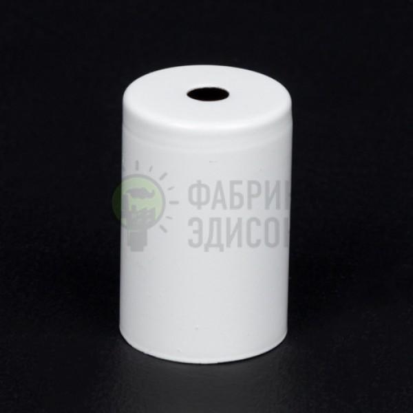 Металева накладка для цоколя Е-27 (біла)