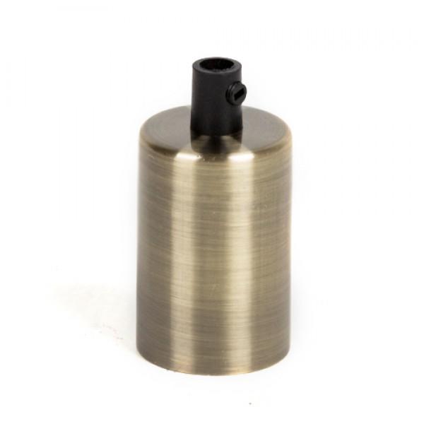 Стальная гильза для патронов Е-27 (бронза)