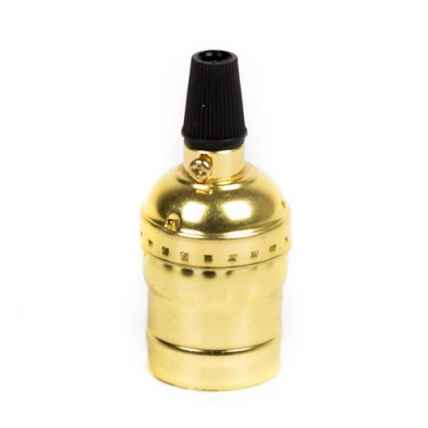Алюминиевый патрон Золотой без выключателя