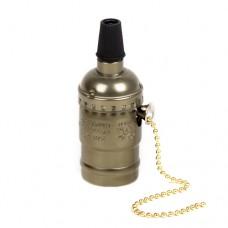 Алюмінієвий патрон бронзовий з зіпером