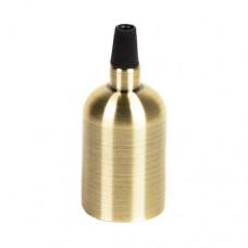 Декоративний гладкий патрон бронза