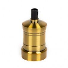 Винтажный патрон с прижимным кольцом GOLD BRONZE