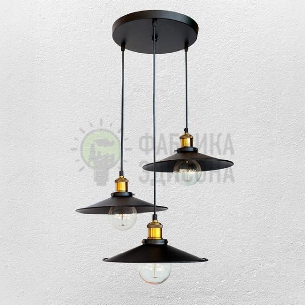 Люстра Loft Black 3 (300)