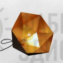 Люстра Diamond Black-Gold