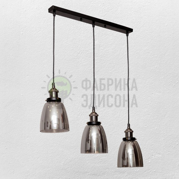 Люстра Glass Cone2 Black (500)