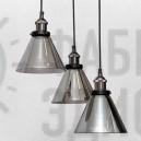 Люстра Glass Cone Black (500)
