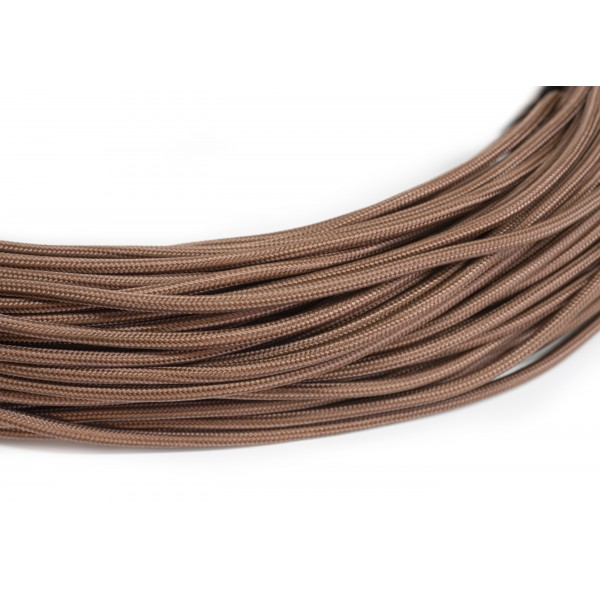 Провод в тканевой оплетке коричневый