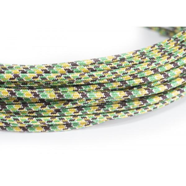 Провід в тканинної оплітці кольоровий мікс I