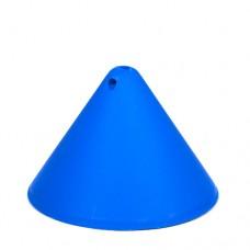 Пластиковый потолочный крепеж конус Синий